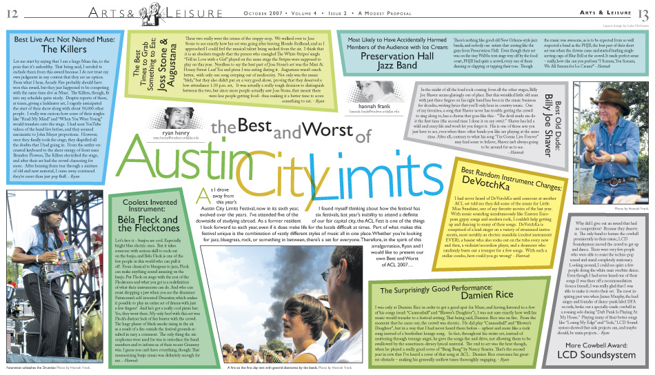 AMP: Austin City Limits